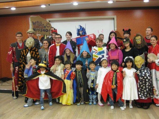 Korea Kindergarten Halloween Party