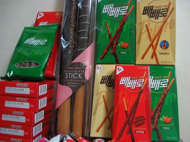 Pepero Sticks on Pepero Day Korea