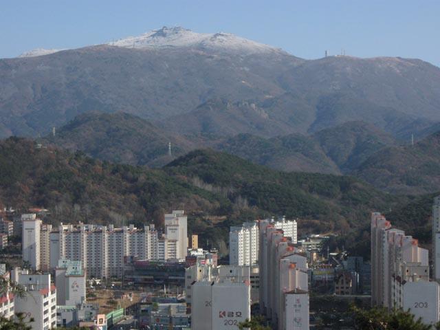 mudeungsan mountain gwangju