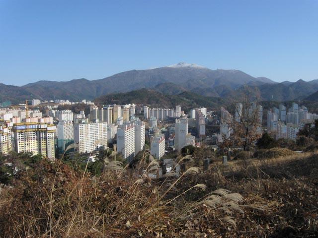 mudeung mountain gwangju south korea