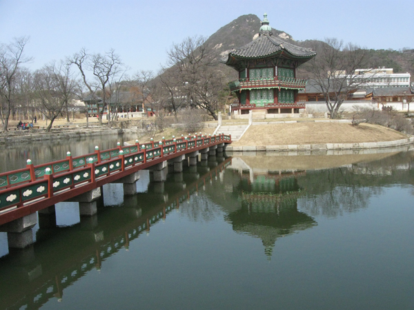 Inside Gyeongbokgung, Seoul, South Korea
