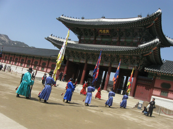 Gyeongbok Palace Seoul South Korea