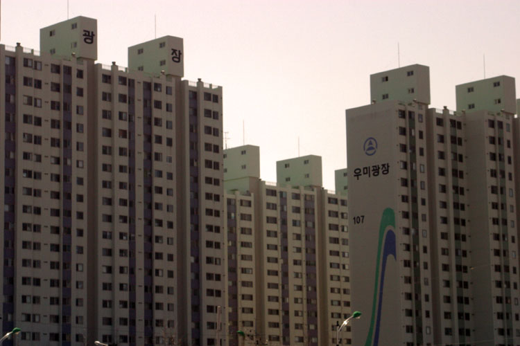 apartments in south korea