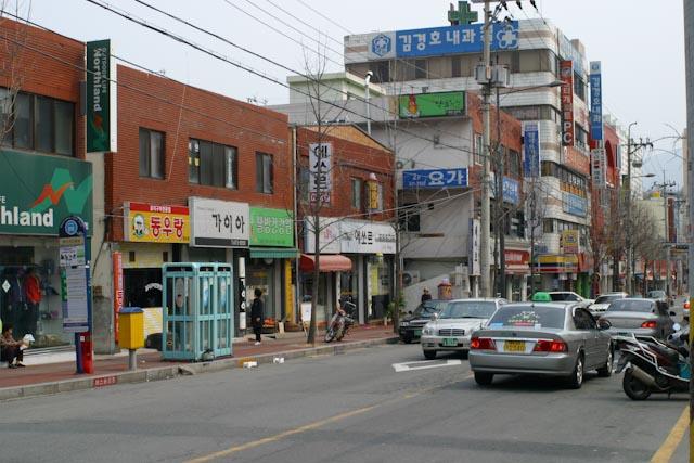 gwangju streets south korea