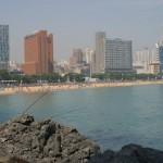 haeundae beach busan south korea